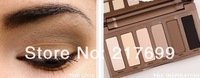 Hot sales 6pcs/lot 2013 new makeup Set Nake Basics eyeshadow palette 6color palettes eye shadow for girl's gift free shipping