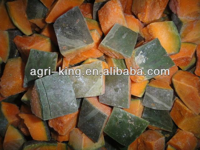 cheap frozen food pumpkin cube