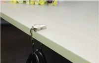 сумка смотреть мило фиолетовый метал Cкладная сумка кошелек крючок мешок вешалка/кошелек крючок/сумочка держатель bling мешок складной таблицы хрусталь 8шт