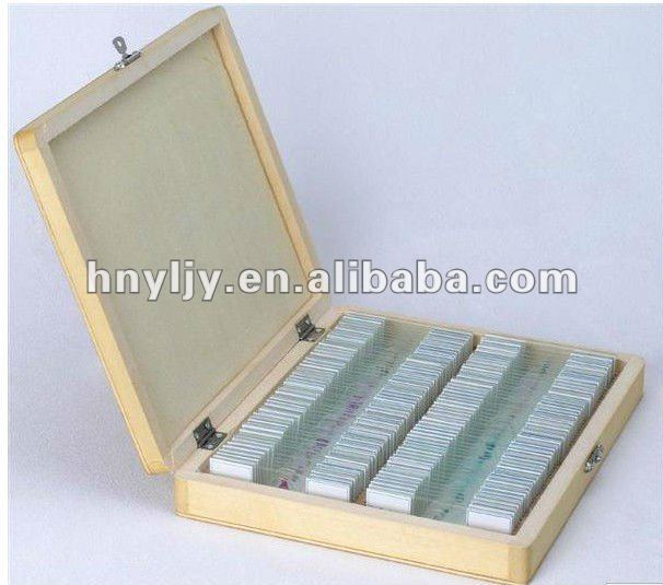 microscope prepared slides,blood of Frog smear