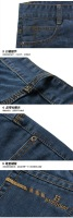 Мужские джинсы new tide washed denim trousers spring and summer men's Slim Jeans Fashion casual jeans boy's jeans