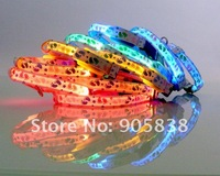 New Product!! The Colorful footprints Series  LED  Dog Collar TZ-PET3500 Flashing Dog Collar.MOQ 5 Pcs.Free shipping!!