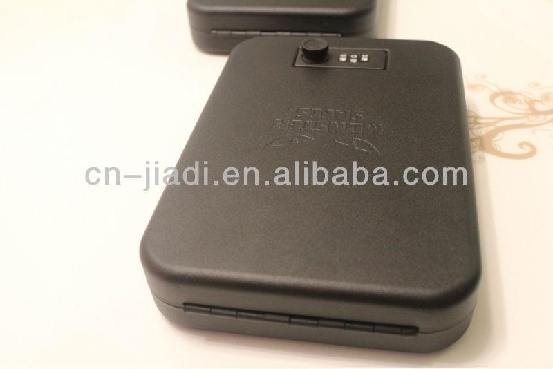 Jd-gv2k пистолет пистолет сейф с шестом коробка с кабельным и механический замок