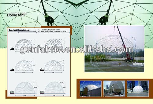 Camera blimp dome tents China