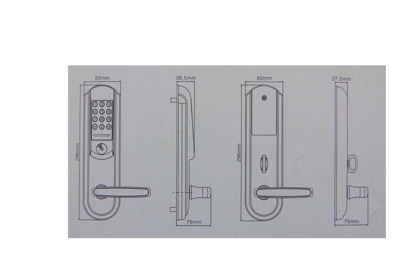 zinc alloy hotel locks