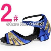Обувь для танцев Атласная ткань