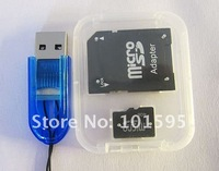 Карта памяти Retail - bulk 16gb micro sd card with reader and TF card adapter - - 3 years warranty