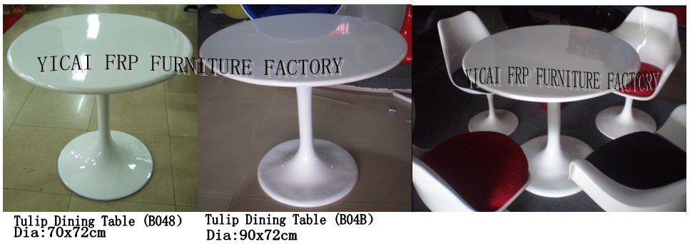 Fiberglass Tulip Table - Modern Style Dinning Table / Coffee Table For Dinning Room B048#