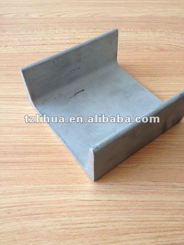 stainless steel unistrut channel 40mm*20mm-200mm*100mm(H*B)