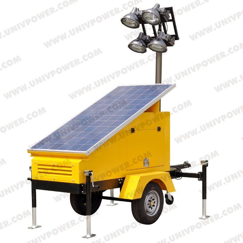 Luz solar de torre / Mobile torre de iluminação