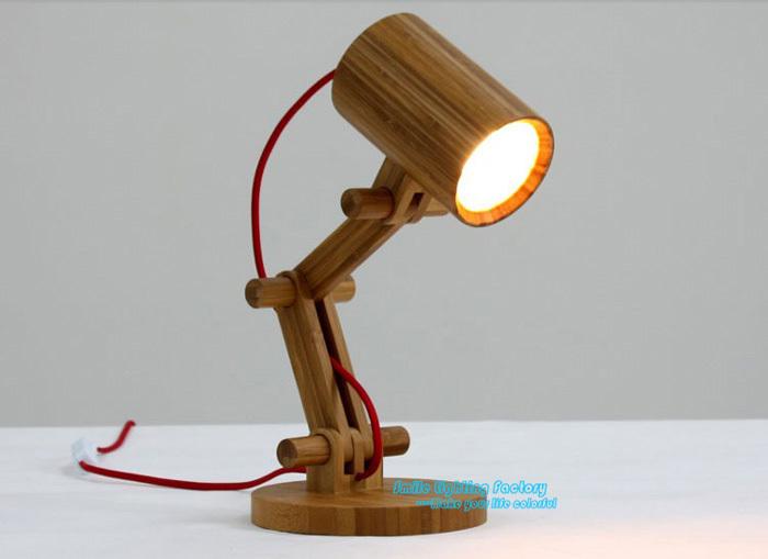 : Buy Free Shipping Creative Fashion Design Original Wood Table Lamp ...