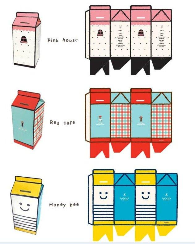 Как сделать из бумаги денежную копилку?