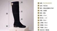 size 34-42 Women's genuine leather boots women shoes qingximu guji