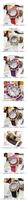 Наручные часы 2012Fashion ladies crystal Gypsophila flowers everywhere open belt table fashion aesthetic Watch