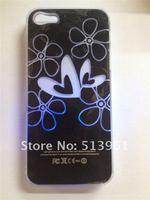 Чехол для для мобильных телефонов 10pcs Colorful Change logo Battery Sense Flash LED light Cover Case for iPhone 5 Styles New