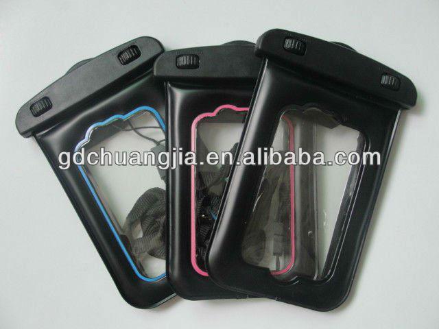 hot sale pvc watertightness phone bag for samsung galaxy s3