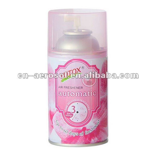 automatic time AIR freshener spray 250ml ,300ml net 140g