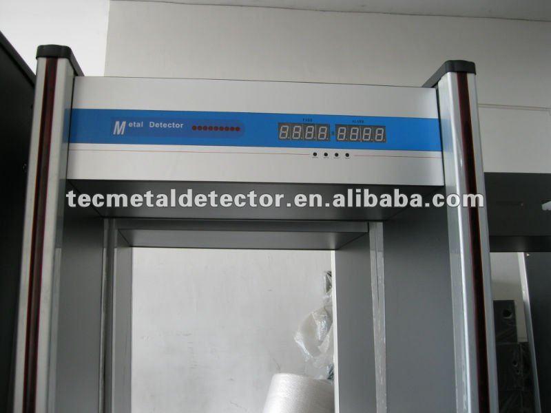 Metal Detector Door ,Security Archway Metal Detector TEC-200