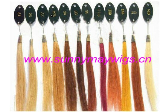 Pretty natural color natural wave 100% Malaysian virgin human hair