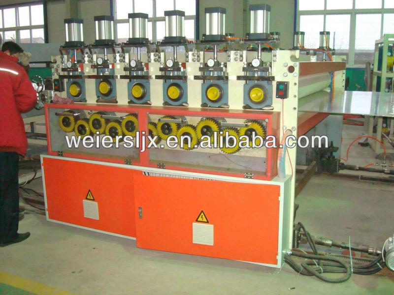 2-16mm PC/PE/PP Plastic board extrusion line