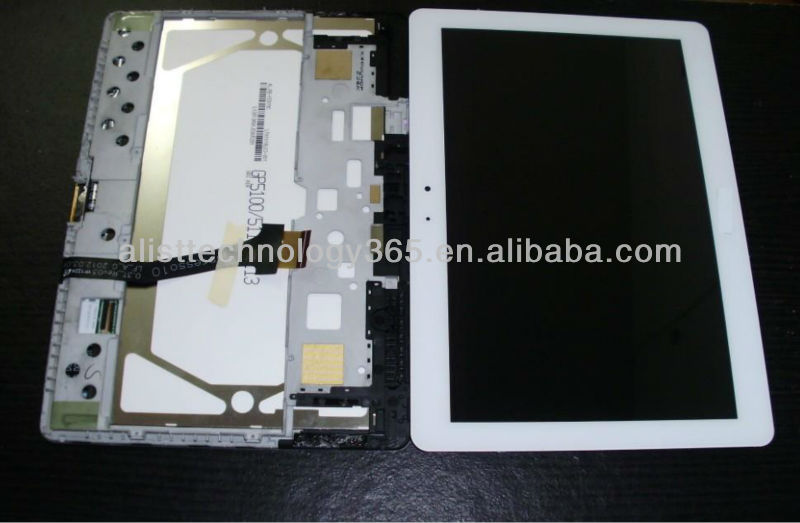 For Samsung Galaxy Tab 2 10.1 P5100 P5113 LCD With digitizer assembly