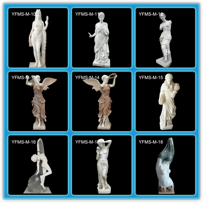 Apollo and daphne garden carving natural marble life size statues
