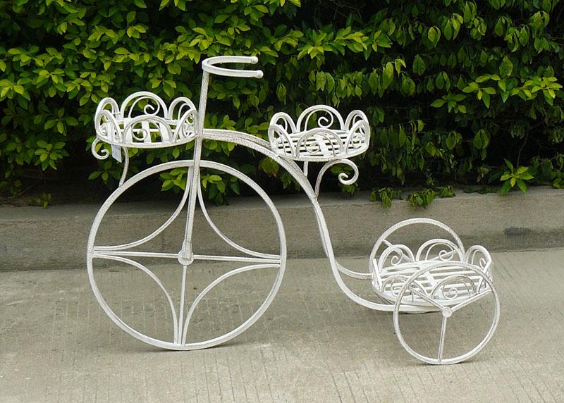 enfeite jardim bicicleta:nova design bicicleta decorativa flower pot stands-Outros enfeites
