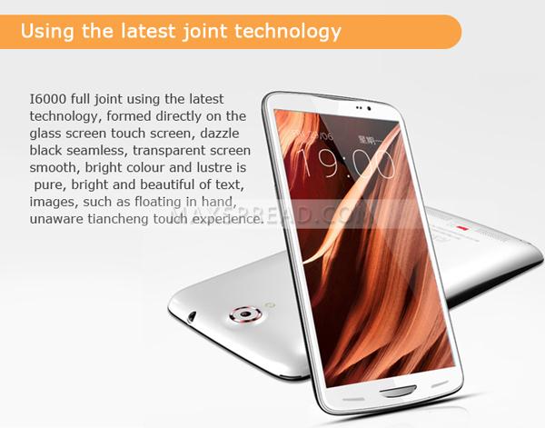 inew i6000 mtk6589t quad core 1GB/16GB dual sim 13mp camera 1920*1080 3g android 6 inch smartphone