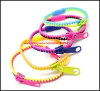 Ювелирное изделие 2013 New Stylish Neon Zipper Bracelet, Double Color With High Quality, Japanese Style Jewelry x50pcs