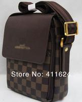 Маленькая сумочка Price of factory sales men shoulder bag genuine leather messenger business bag