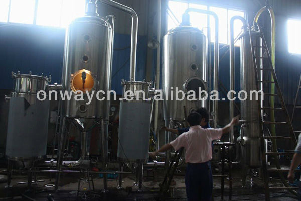 WZD Dual-effect milk evaporator dairy farm equipment