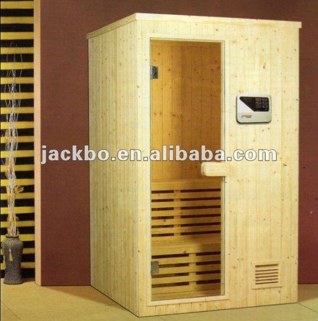 Haute qualit 4 6 personne ext rieure sauna baril for Fabrication sauna interieur