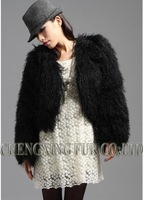 Женская куртка CX-G-A-25 Mongolian Sheep Fur Women's Coat ~ NEW ARRIVE ~ DROP SHIPPING