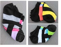 Женские короткие носочки 10pair/lot Socks female boat socks contact shallow mouth of spring and summer thin cotton candy color socks cute socks