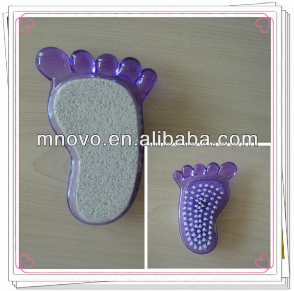 Foot pumice stone w/brush