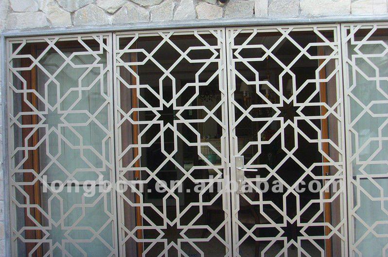 Top vente moderne en fer forg fen tre garde grilles de portes fen tres id de produit - Grille de fenetre en fer forge moderne ...