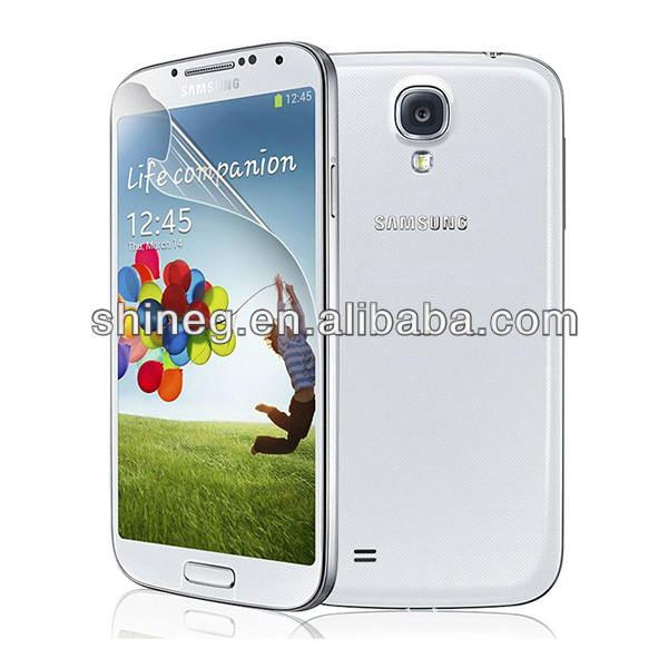 Manufacturer! Anti scratch high transparency screen protector film for Samsung galaxy s5