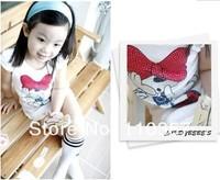 Платье для девочек 4pcs/lot baby /4pcs 100-110-120-130