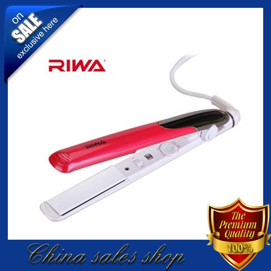 Утюжок для выпрямления волос RIWA