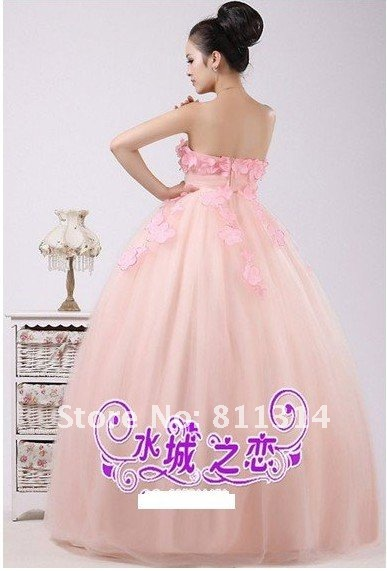 Free shipping 2011 new wedding dresses han edition tall waist expectant mother can do 224 pregnant women dress in white