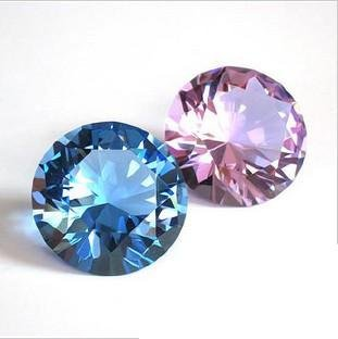 2012newest fashion popular free shipping Crystal diamond for business gift and birtyday or wedding gift
