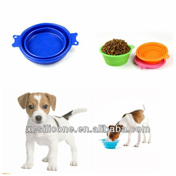 Hot Sale Useful Silicone Dog Travel Bowl with High Quality