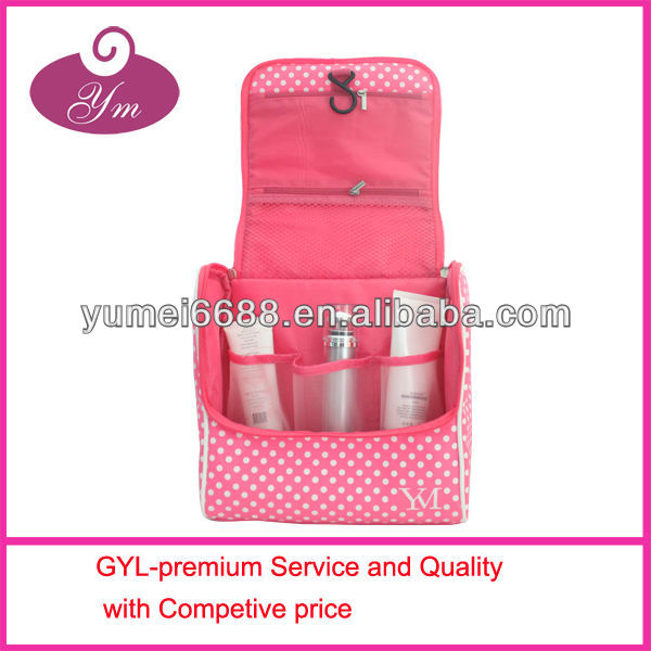 2014 new arrival make up brush bag