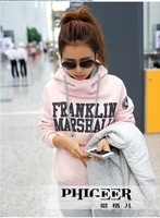 Женские толстовки и Кофты 2012, sports suit, letters hoodie set, thick hoodie set, sweatpant, hoodie+pant, 2 piece.leisure set