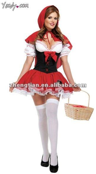 Категория: Игровые костюмы Товар: Костюм Красная шапочка Размер: S,L,XL,2XL