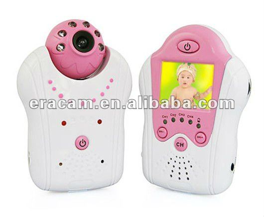Baby Monitor 4 channel 2.4GHz 1/3 CMOS with night vision