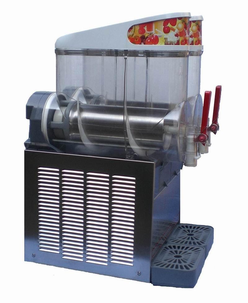 La máquina de granizados lado izquierdo ( mismo como el lado derecho )