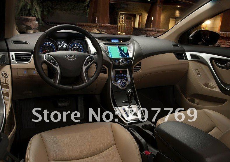 New Free shipping Special car DVD for Hyundai Elentra 2012 with GPS navigation Bluetooth DVD Radio TV Camera AUX