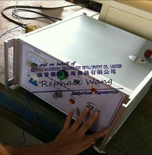Single Side Processing Digital Plastic Film Corona Treater