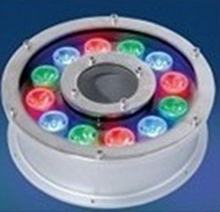 IP68 RGB led ring lights underwater